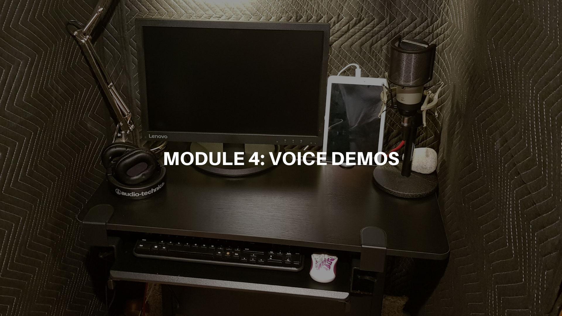 Module 4 - Voice Demos
