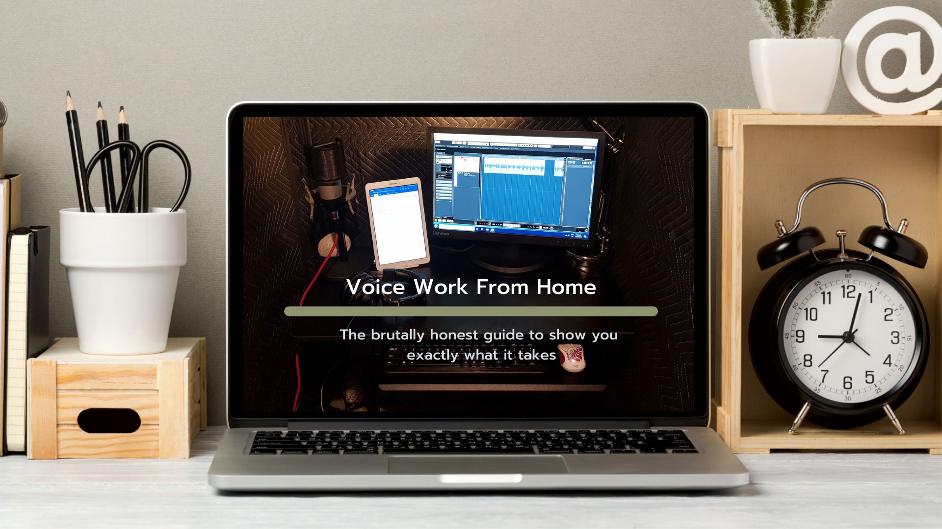 Voice Work From Home